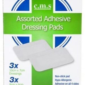 assorted dressing pads