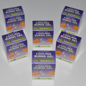 burn gel pack 6 x 6 boxes