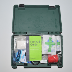 Family First Aid kit in box