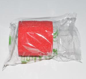 bandage cohesive 5cm red